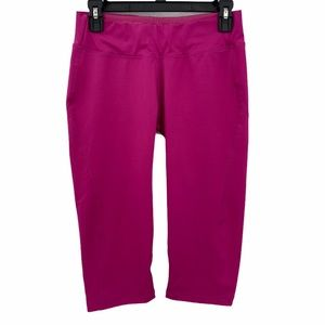 Freddy D.I.W.O.- WrUp Sport Pink Capri Leggings- 6